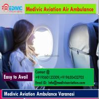 Air Ambulance Varanasi by Medivic Aviation at Low Cost